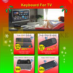 Wireless Keyboards Ranger Smarty, Palmtop RF, Mini Multimedia, Handy