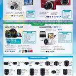 Digital Cameras WB50F, WB350F, NX30, NX3000, NX Lenses