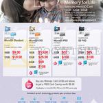 Flash Memory, MicroSD Standard, EVO, PRO, SD PRO