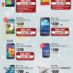 Smartphones Galaxy S5, Note 3, S4, Grand 2, Core, Young 2, K Zoom, Camera 2