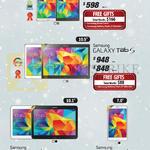 Tablets Galaxy Tab S 8.4, 10.5, Tab 4, 10.1, Galaxy Tab 4, 7.0
