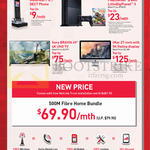 Fibre Home Bundle 500M 69.90, Motorola IT.6.1, Sony PlayStation 4, Sony Bravia 4K TV, IMac