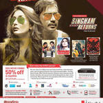 Singtel Mio TV Desi Movie Combo