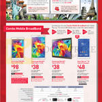 Mobile Broadband Combo Samsung Galaxy Tab 4 7.0, Samsung Galaxy Tab S 8.4, Samsung Galaxy Tab S 10.5, Sony Xperia Z3 Compact