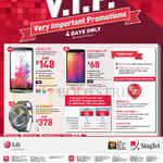 Singtel Mobile LG G3, LG G3 Beat, LG G Watch R