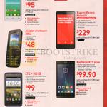 Singtel Mobile Prepaid Alcatel Onetouch Pop D3, 2052, Xiaomi Redmi Note, ZTE - KIS III, Karbonn A19 Plus