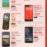 Mobile Prepaid Alcatel Onetouch Pop D3, 2052, Xiaomi Redmi Note, ZTE - KIS III, Karbonn A19 Plus