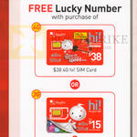 Singtel Mobile Prepaid Free Lucky Number With Purchase Of Sim Card