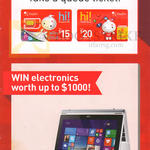 Singtel Mobile Prepaid Spend N Win