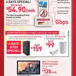 Unlimited Fibre Broadband 54.90, Aztech FG7008GR, Aztech Home Plug, IMac
