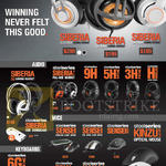 Headphones, Mouse, Keyboard, Siberia Elite, V3, Raw Prism, Siberia V2, 9H, 5HV3, 3HV2, H Wireless, Sensei, Sensei Raw, Kinzu V3, Rival, Kana V2