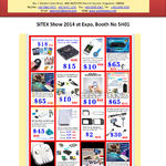 Accessories, Sim Card Adapter, Power Adapter Travel Charger, Wireless USB Storage, Handheld Camera, Wi-fi Display Dongle