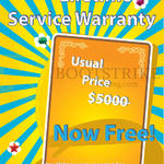 Lifetime Service Warranty