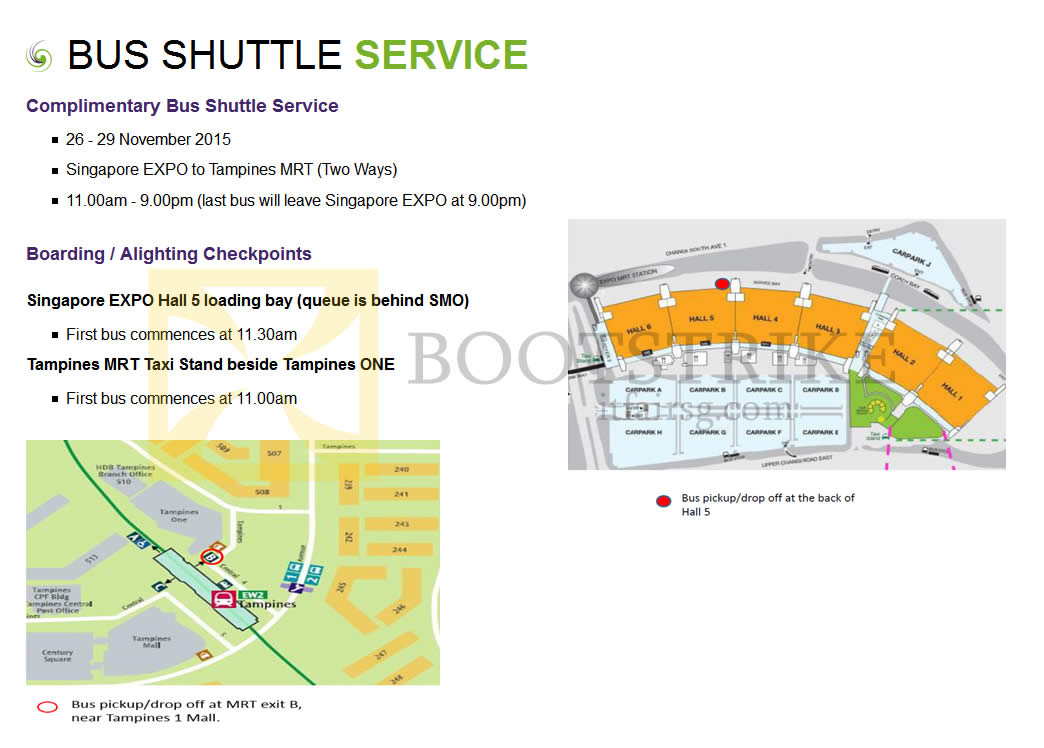 SITEX 2015 price list image brochure of SITEX 2015 Free Bus Shuttle Service Pickup, Dropoff, Timings