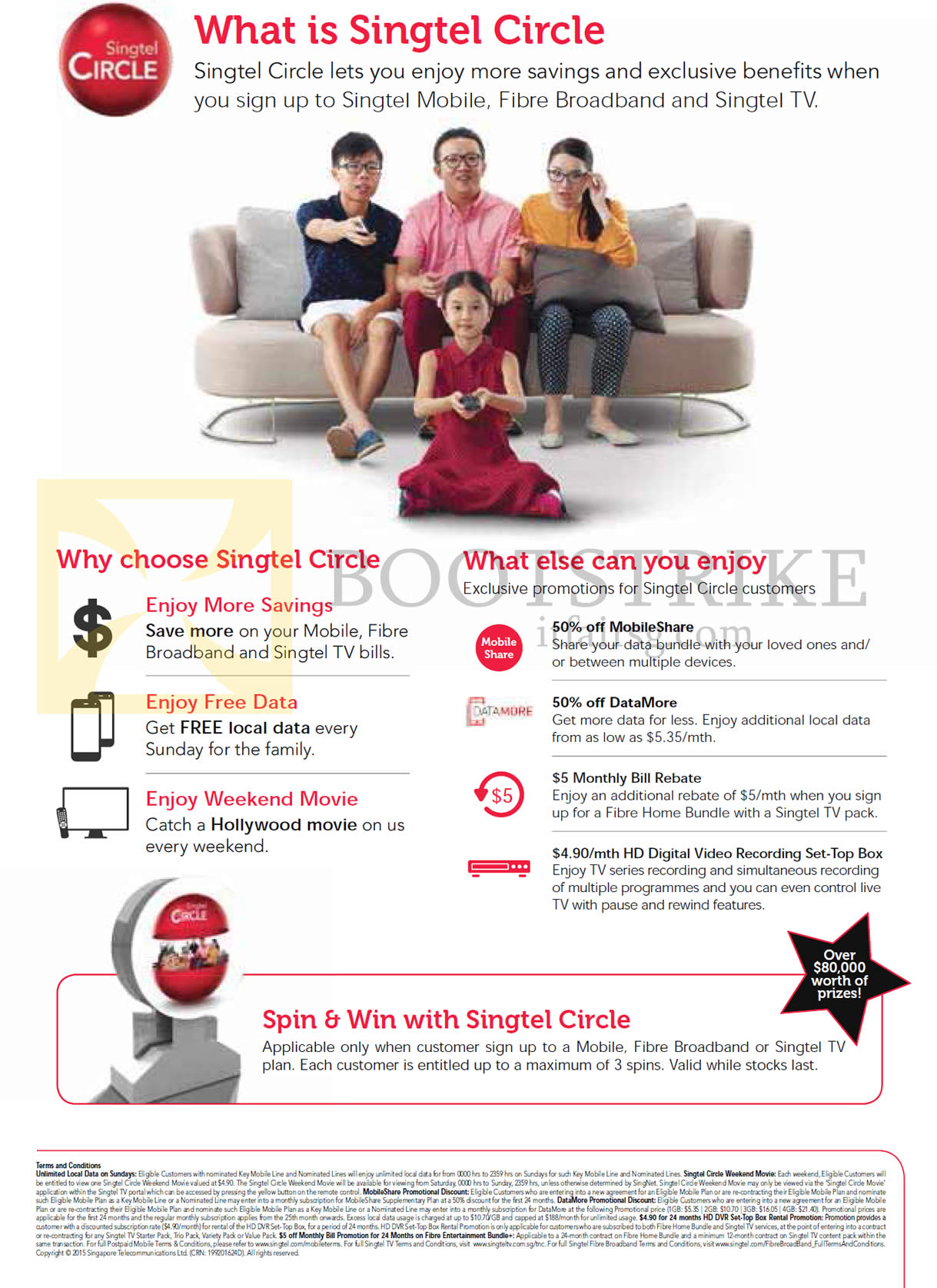 SITEX 2015 price list image brochure of Singtel Circle, Why Choose It, What Else To Enjoy