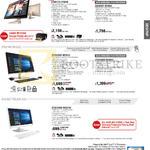AIO Desktop PCs Z240ICGT-GF086X, Z240ICGT-GF036X, ET2323INT-BF031Q, ET2323INT-BF032Q, ET2230INK-WC015Q