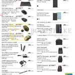 Accessories ROG GM50 Mouse Pad, GX850 GX860 GX950 GX1000 Micro USB Charging Stand, Slim 65W Universal Adapter, U90W Universal Adapter, Chi Stylus, ZenPad C 7.0 Tricover, 8.0