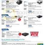 Desktop PCs VM62N-G024R, VM42-S126Y, UN62-M111Y, UN62-WP118Y, UN42-M074Y, CN60-M109Y