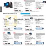 Desktop PCs, G11CB-SG004T, G11CD-SG001T, M52AD-XTREME-SG006S, M32CD-SG005T, M32CD-SG001T, M32AD-SG006S, K20CD-SG003T, K20CD-SG002T, P50AD-SG014S, P50AD-SG005S