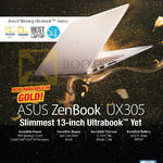 Notebook Zenbook UX305 Notebook Features