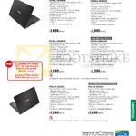 Notebooks PU Series P2420LJ -W00088G, P2420LA-W00262G, P2420LJ-W00087G, P2520LJ-DM0144G, PU451JF-W0032G, PU451JF-W0033G