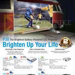 Projectors P3B, B1MR, S1, B1M