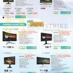 Monitors, G227HQL, G237HL, G277HL, T232HL, Predator X, X34, XB281HK, XB270HU, XR341CK