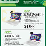 Newstead Notebooks Aspire, S7-393 5200U, 5500U