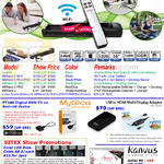 Scanner, Multi Display Adapter, Digital DVB-T2 Avision MiWand 2 Wifi, Wifi Pro, Mygica, Kanvus