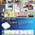 TP-Link Networking AV1200 Starter Kit, AV1000, AV500