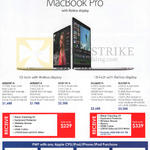 pple MacBook Pro With Retina Display, MF839ZPA, MF840ZPA, MF841ZPA, MJLQ2ZPA, MJL2ZPA, Purchase With Purchase Items