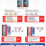pple IPhone 6s, 6s Plus, IPod Touch, IPod Nano, 16GB, 32GB, 64GB, 128GB, Purchase With Purchase Items