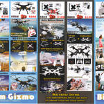 Biam Gizmo Wifi Quadcopter, HD FPV Quacopter