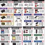 SSD, Memory Cards, Storage, USB Thumb Drives, Sandisk Plus, Ultra II, Extreme Pro, SDHC Memory, SDXC Card, Cruzer, Cruzer Force, Cruzer Glide, Ultra Fit, Ultra Flair