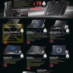 Notebook Cooler SF-15, Notepal Ergostand Lite, X3, X-Lite II, I300, L1, L100, CMC3