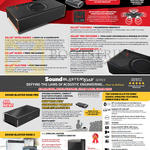 Bluetooth Speakers Sound Blaster Roar Pro, Roar, Roar 2