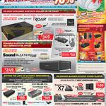 Speakers, Sound Blaster Roar, Roar Pro, IRoar, IRoar Mic, X7 Standalone Deal