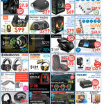 Headphones, Bluetooth Speaker, USB Charger, Mobile Hotsopt, Mouse, Keyboards, Philips, JBL, Steelseries, Prolink, Microsoft, Sirus-C