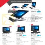 AIO Desktop PCs Inspiron 24 7459-670114G-W10-Blk, 3452-N3745SG-W10-Blk, 3459- 62041SG-W10- Blk, 5459-640814G-W10-Blk