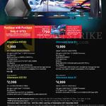 Alienware Desktop PCs, Monitor, S2716DG, X51-479812G-W8-Blk GTX760Ti, Area51-582124G-W8 GTX770, X51-670112G-W8-Blk GTX960, Area51-58212ZG-W8 TitanZ
