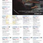 Dell Monitors P2314H, U2414H, U2415, U2412M, U2515, U2715H, U3014, U3415W, P2415Q, P2715Q, UIP2516D, UP2716D, UP3216Q, UP2715K