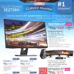 Monitors SE2716H, SE2216H, S2415H, S2316H, S2715H, S2716DG
