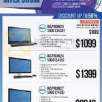 Newstead AIO Desktop PCs Inspiron 24 3000 3459 6200U, 24 5000 5459 6400T, 27 5000 7459 6700HQ
