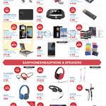 PowerBanks, Earphones, Headphones, Speakers, Plantronics, Mazer, Lacie, Sandisk, Striiv, Western Digital, Goshi, Guawei, Skullcandy