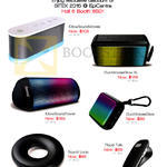 ISound Bluetooth Speakers IGlowSoundWaves, DuraWavesGlow XL, IGlowSoundTower, DuraWavesGlow, Sound Loop, Road Talk
