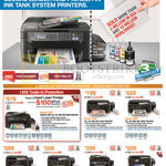 Printers L Series Ink Tank System L220, L360, L365, L455, L565, L850