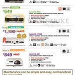 Projectors EB-X04, EB-W04, EB-1776W, EB-520