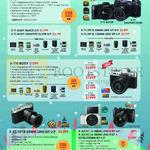 Digital Cameras X-T1, X-E2, X-A2, X-M1, X-T10