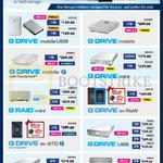 Storage Solutions G Drive Mobile USB, Mobile, Mobile With Thunderbolt, Mini, Ev Raw, Ev ATC, USB, G Raid, Raid Mini