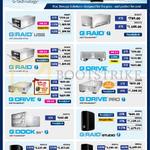 Storage Solutions G Raid USB, With Thunderbolt, With Removable Drives, Studio, G Drive, Pro, G Dock Ev, G Raid Studio, G Speed Studio